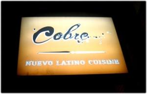cobre nuevo latin cuisine