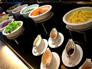 novotel hotel - breakfast buffet