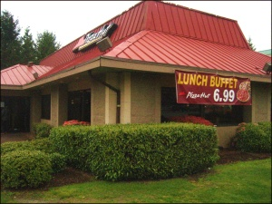 pizza hut lunch buffet